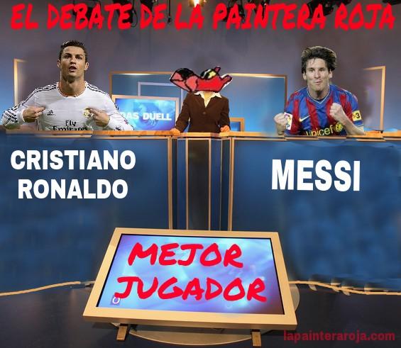 debate cr7 messi