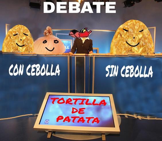 debate tortilla